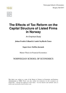 journal articles on capital structure